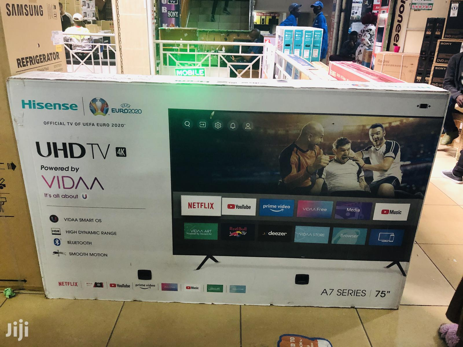 Hisense 75 Inch Smart 4K | TV & DVD Equipment for sale in Nairobi Central, Nairobi, Kenya