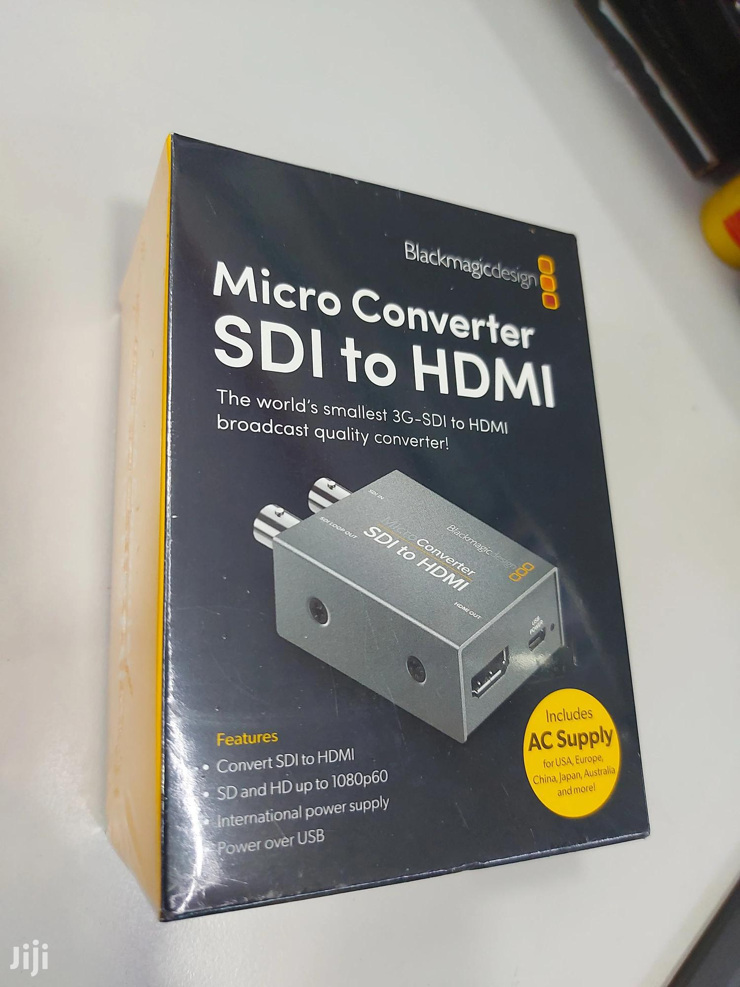 Blackmagic Design Micro Converter Sdi To Hdmi Power Supply In Westlands Accessories Supplies For Electronics Pc Today Westlands Jiji Co Ke