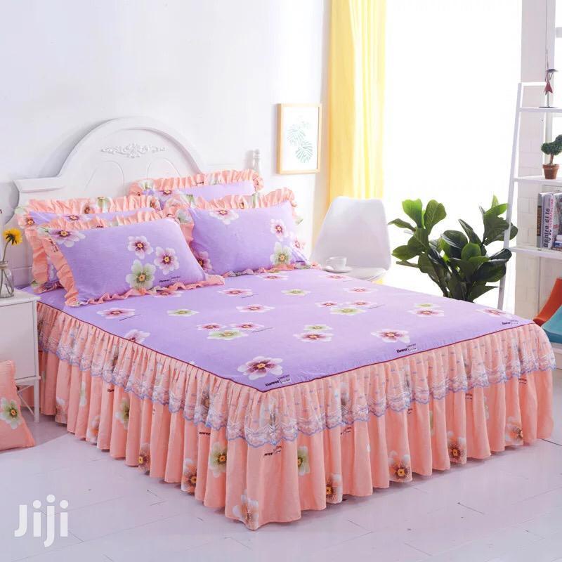 Peach Bedskirts