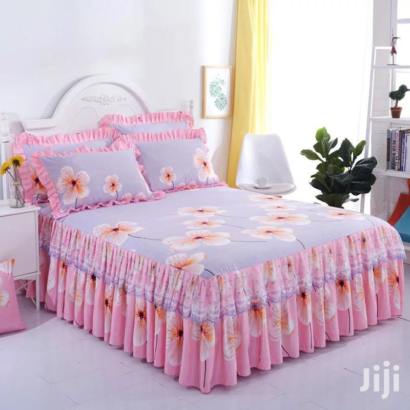 Pink Bedskirt 6*6
