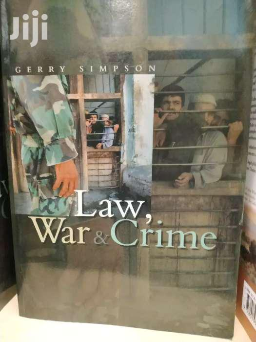 Law War And Crime -gerry Simpson
