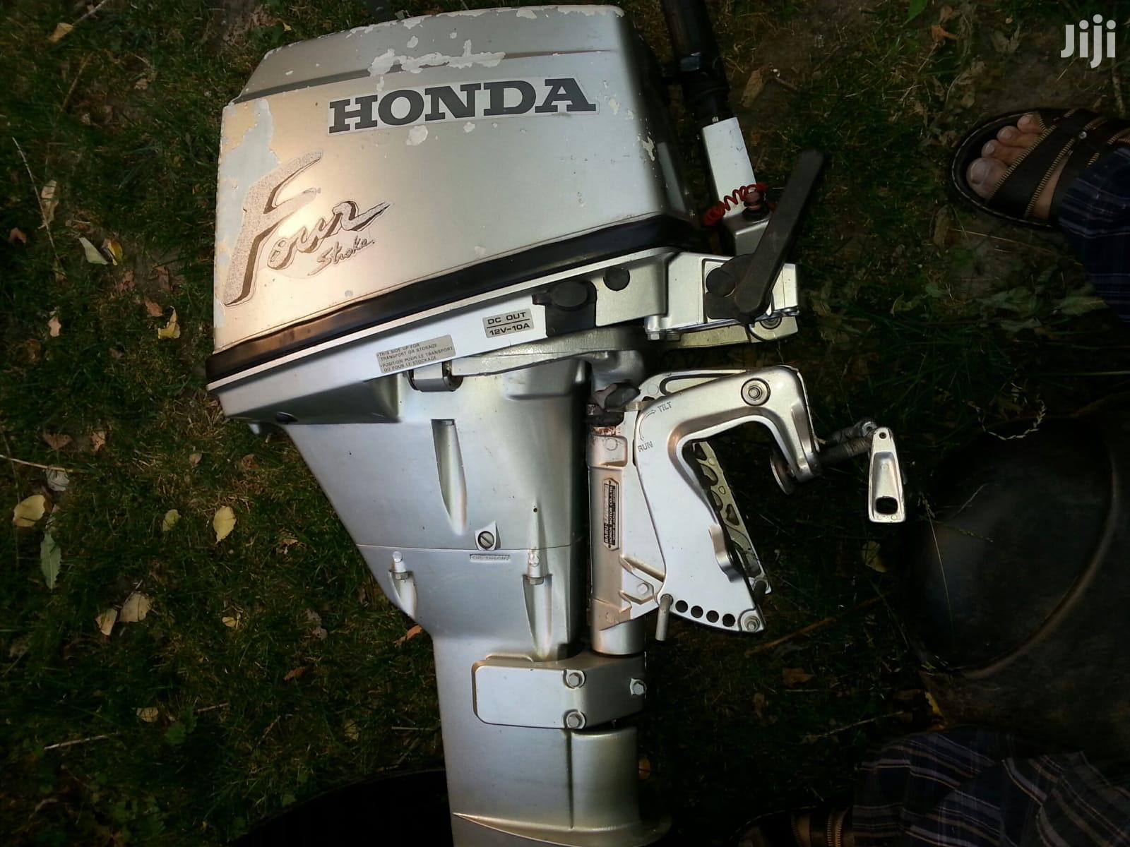 Archive: Honda Outboard Engine 9.9hp