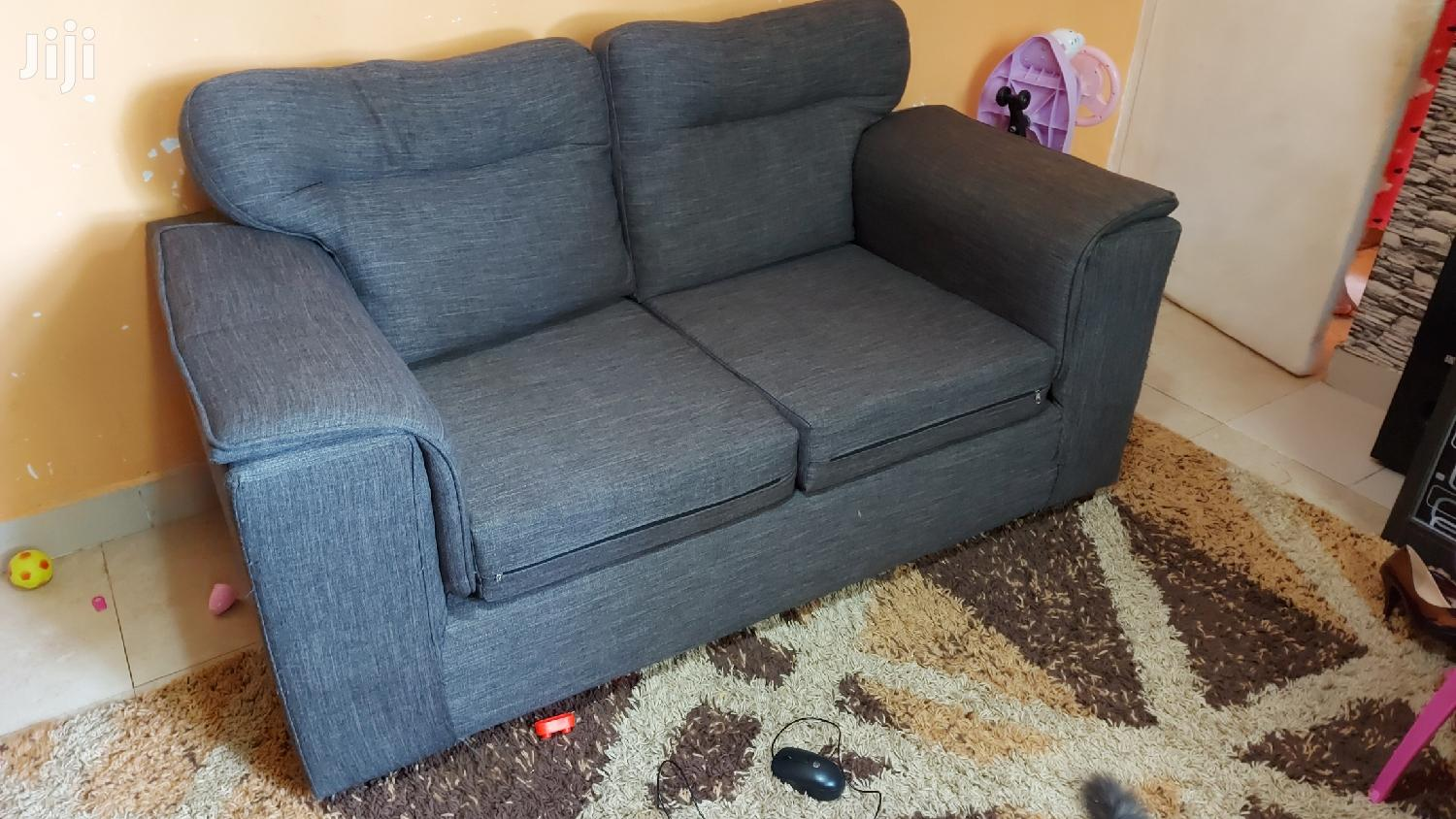 Well Used High Quality 2 Seater Grey Sofa/Couch Choice of 2   Furniture for sale in Westlands, Nairobi, Kenya