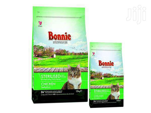 Bonnie Sterilised Cat Chicken 0.5kg