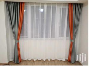 Grey and Orange Elegant Curtain   Home Accessories for sale in Nairobi, Nairobi Central