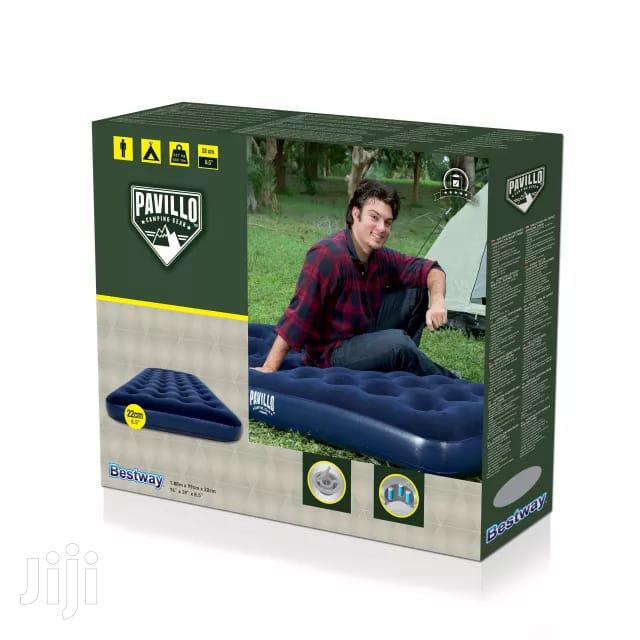 Bestway 4*6 Inflatable Mattress With A Manual Pump