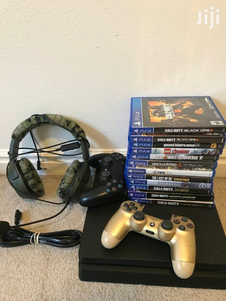 Playstation 4 Console With Used