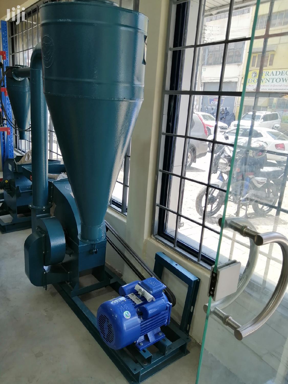 Rhino Posho Mill 3 Phase Phase 7.5 HP With Rhino Italy Motor