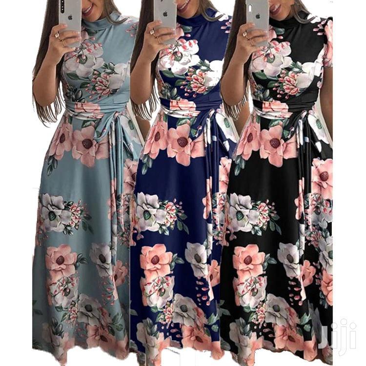 Maxi Ankle- Length Long Dress