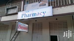 Lighted Box For A Pharmacy Or Chemist