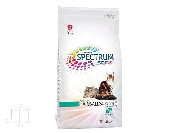 Spectrum Hairball 34 Ultra Premium Adult Cat Food – 2kg