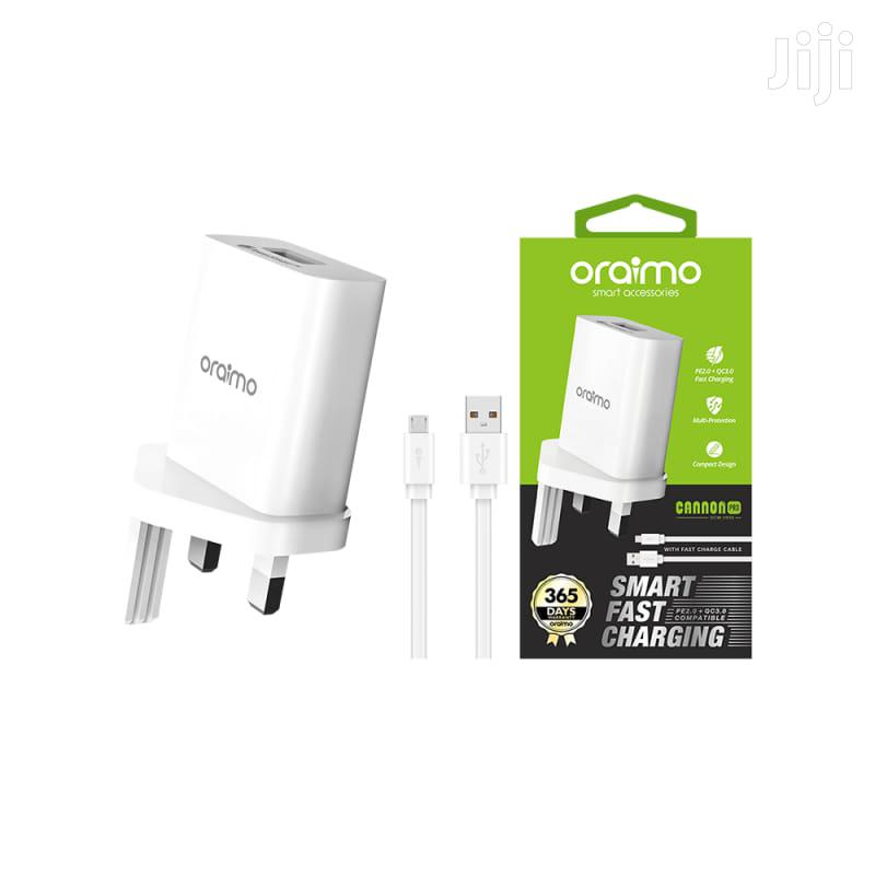 Oraimo Charger 2n1 | Accessories for Mobile Phones & Tablets for sale in Nairobi Central, Nairobi, Kenya