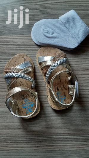 Baby Girl Sandles With A Free Pair Of Socks | Children's Shoes for sale in Nairobi, Nairobi Central