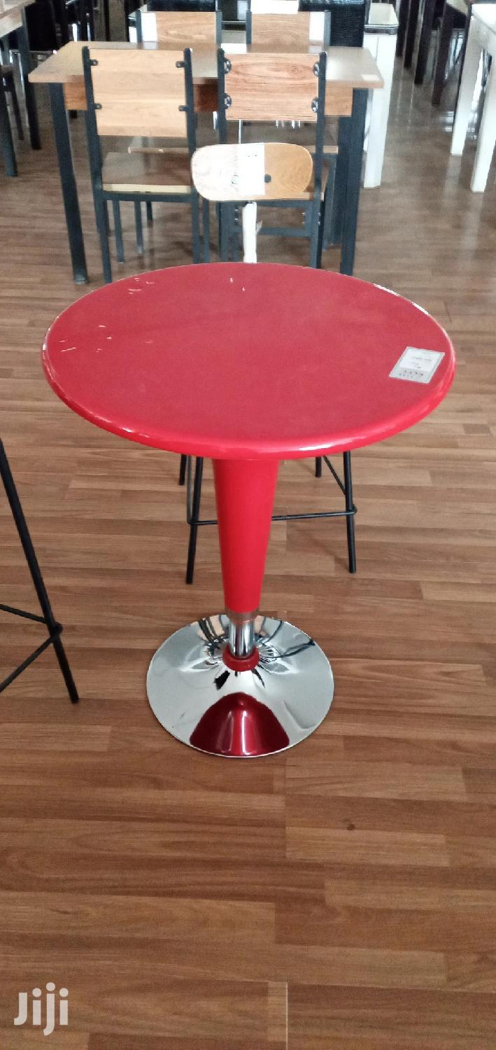 Red Bar Table