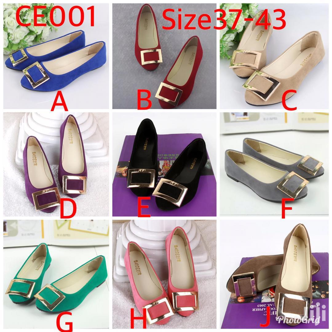 Archive: Colourful Top Quality Ladies Flat Shoes