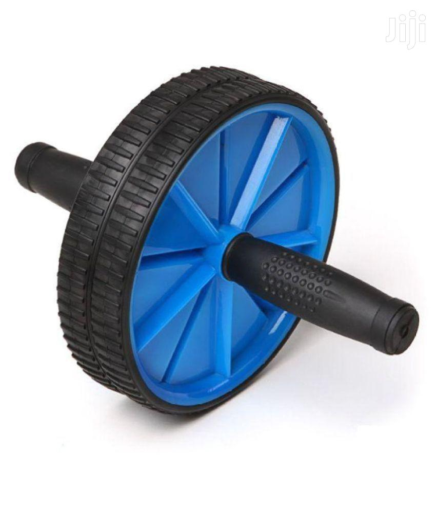 Abs Roller Workout Arm and Waist Fitness Exerciser Wheel