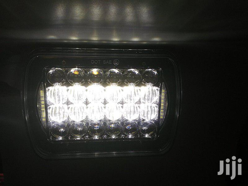 5 X 7 LED Headlights (Pair) for Jeep Wrangler YJ / Cherokee XJ | Vehicle Parts & Accessories for sale in Nairobi Central, Nairobi, Kenya