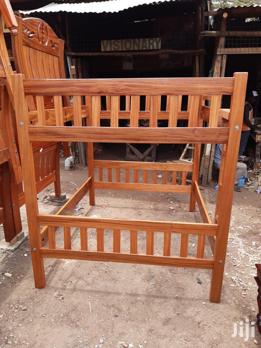 Mahogany Double Decker Bed