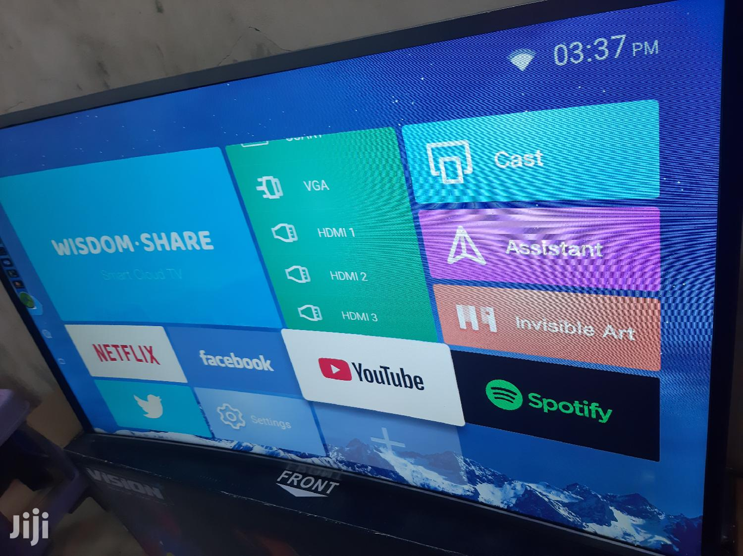 Archive: Vision Plus FHD Smart Curved, Android LED TV 43inchs