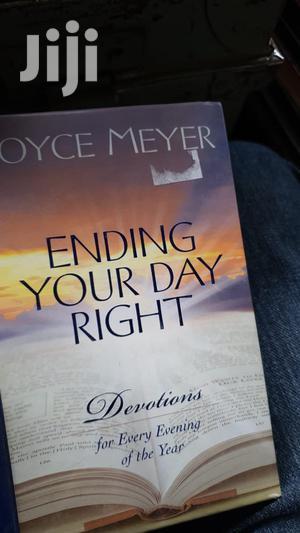 Ending Your Day Right: Devotions - Joyce Meyer   Books & Games for sale in Nairobi, Nairobi Central