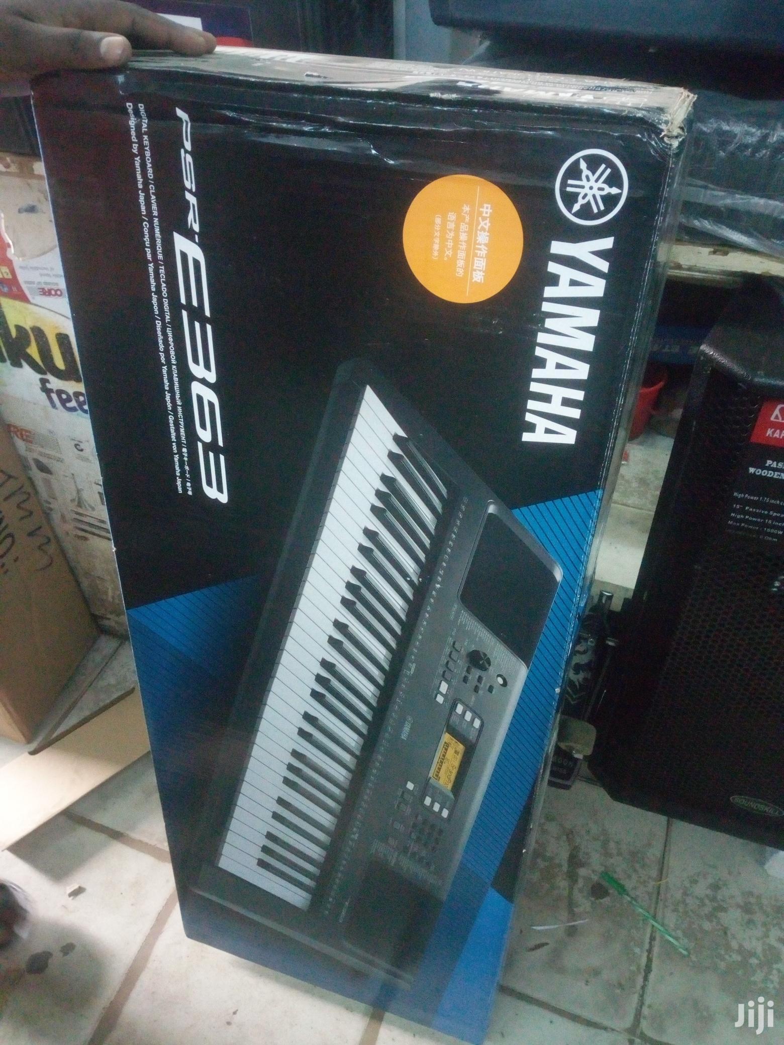 Yamaha Keyboard Psr 363 ,