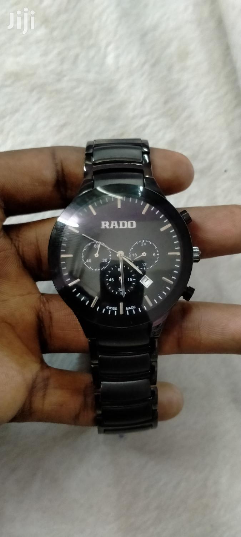 Quality Chrono Gents Rado Watch