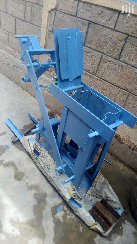 Soil Brick Interlocking Machine