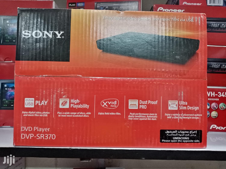 Ultra-slim SONY Dvp-sr370 DVD & Cd Player USB Connectivity