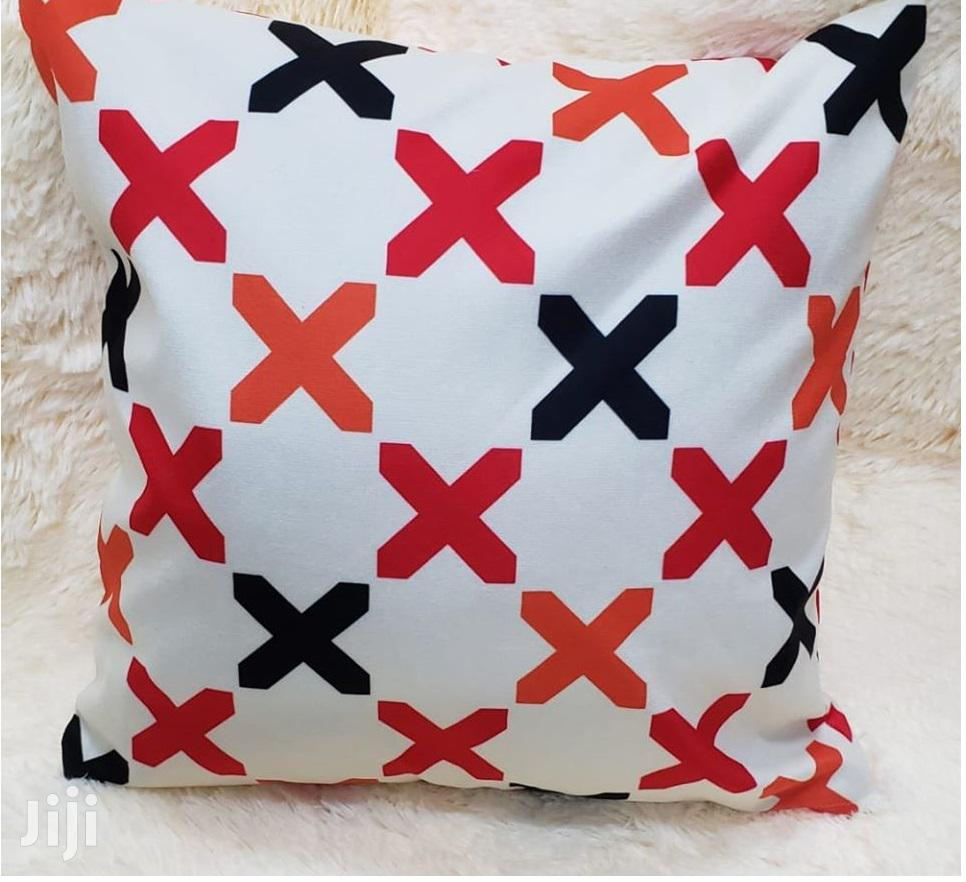 Black And Red Throw Pillows