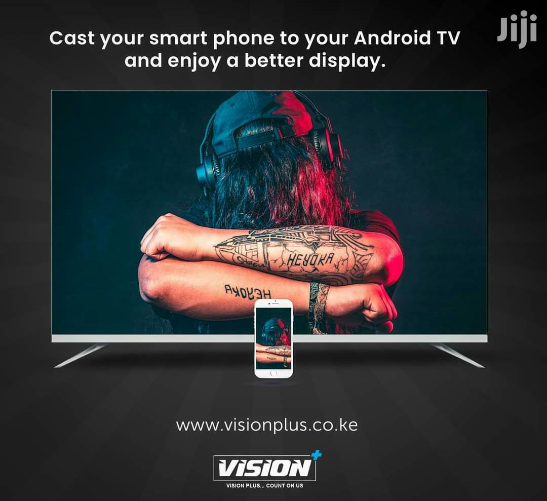 Vision Plus 55 Inches Smart Android Frameless Tv