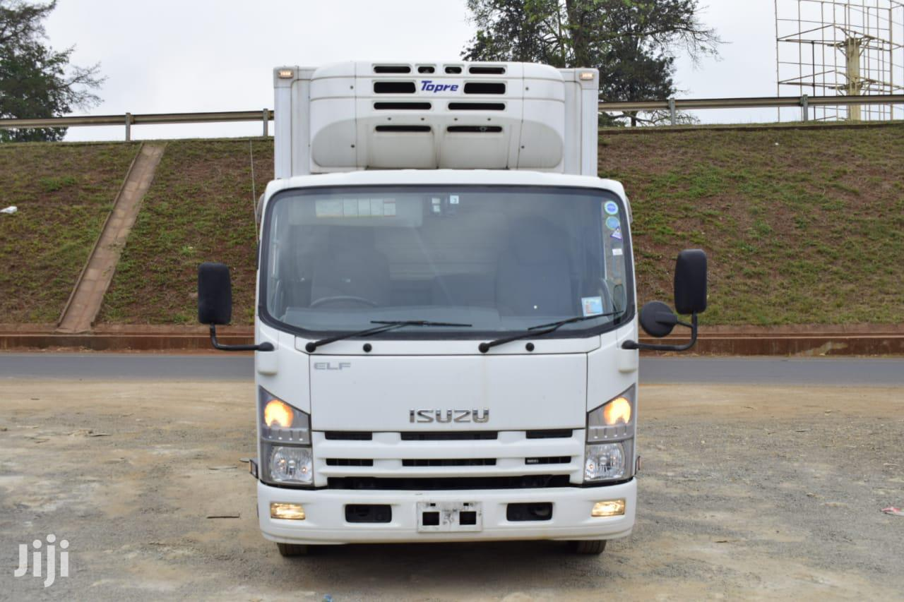 Isuzu ELF 2013 White