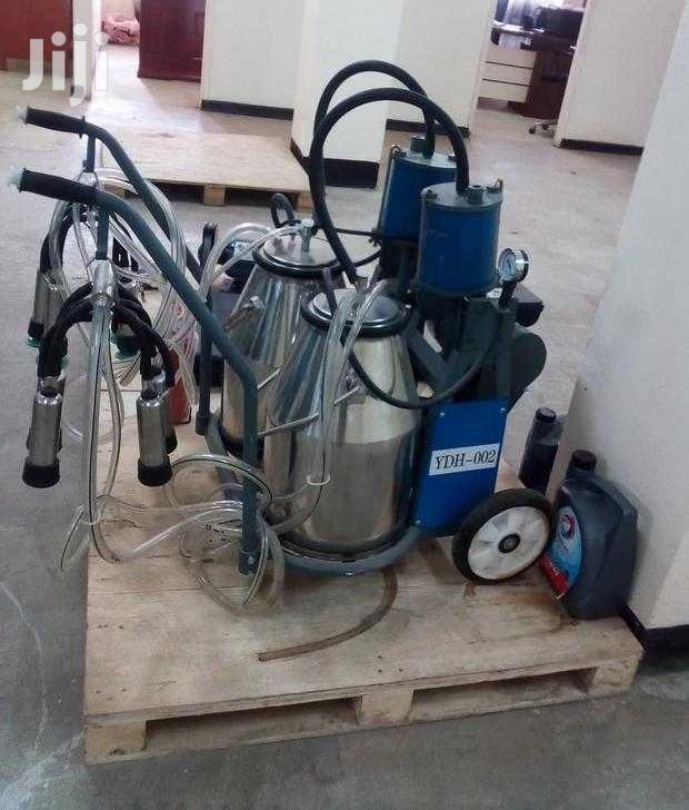 Archive: New Milking Machine