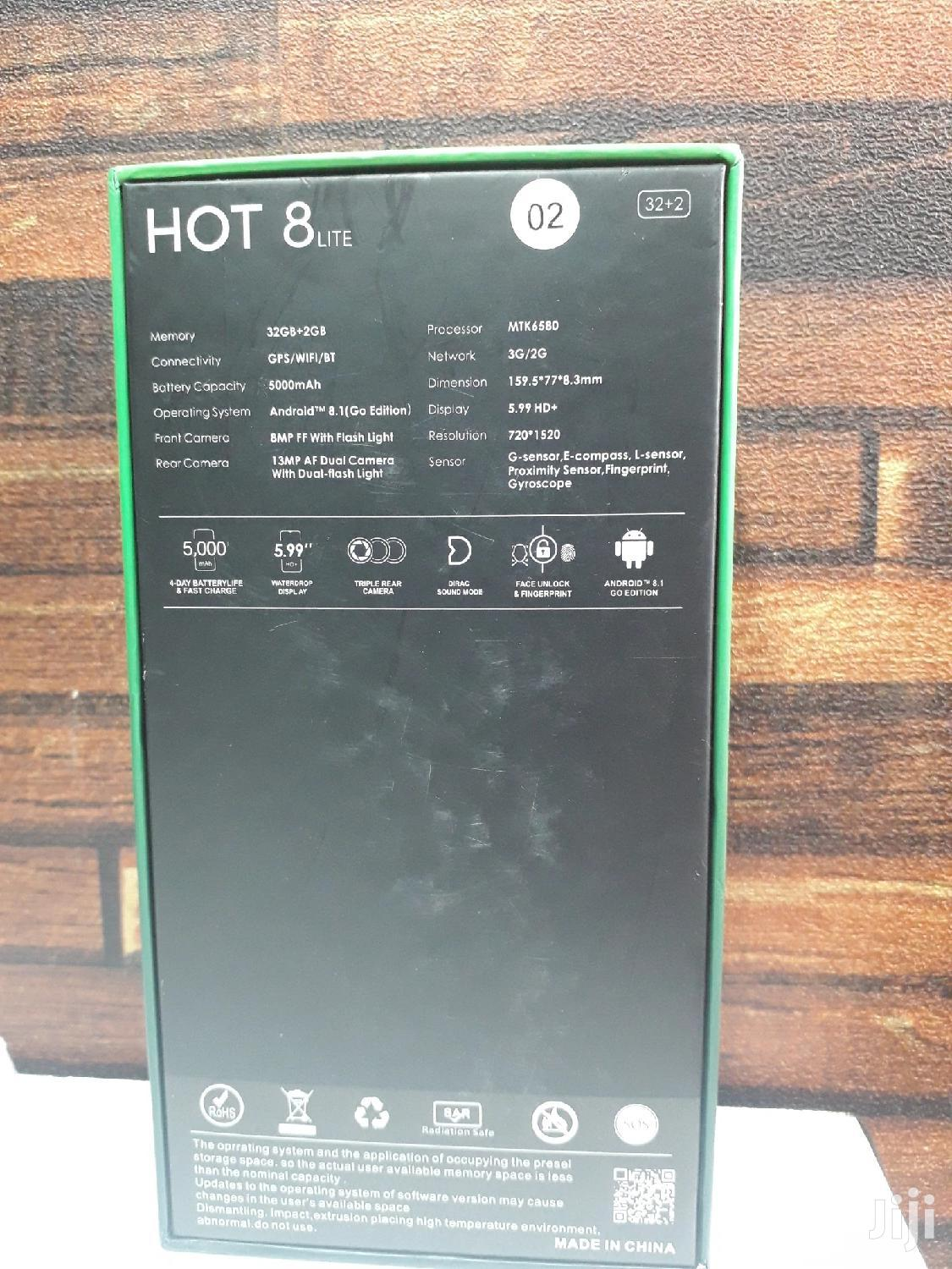 Archive: New Infinix Hot 8 Lite 32 GB Black