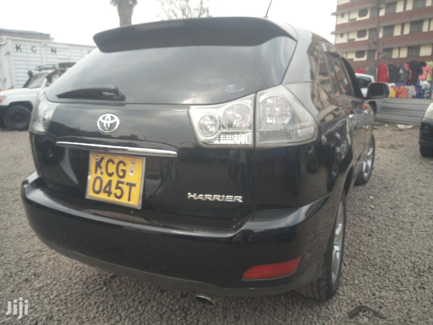 Archive: Toyota Harrier 2009 Black