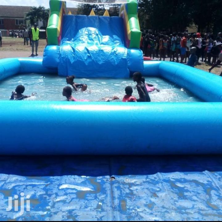 Archive: For Sell Slide Castle Pool