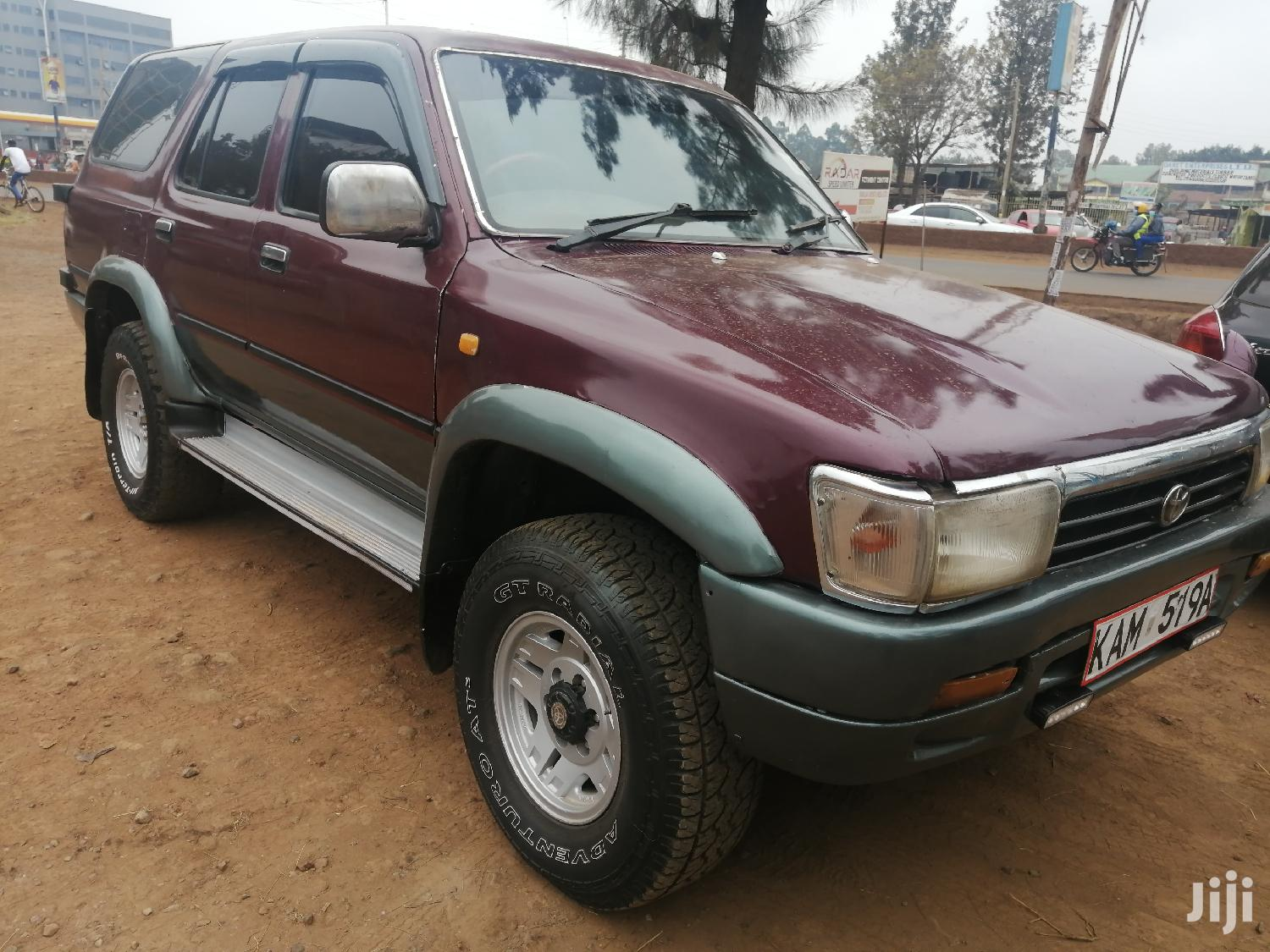 Toyota Surf 1996 Red