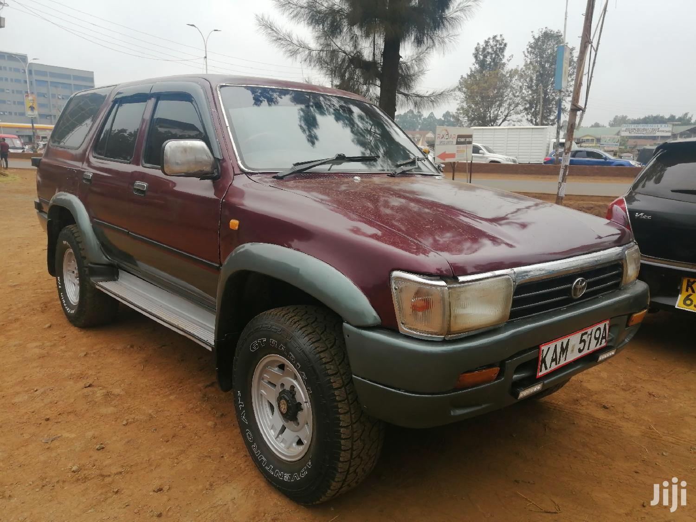 Toyota Surf 1996 Red | Cars for sale in Thika, Kiambu, Kenya