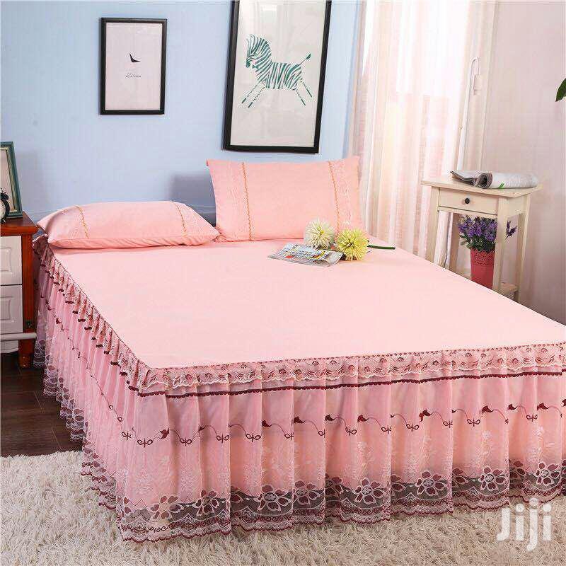 Decorative Bedskirts 6*6 - Pink