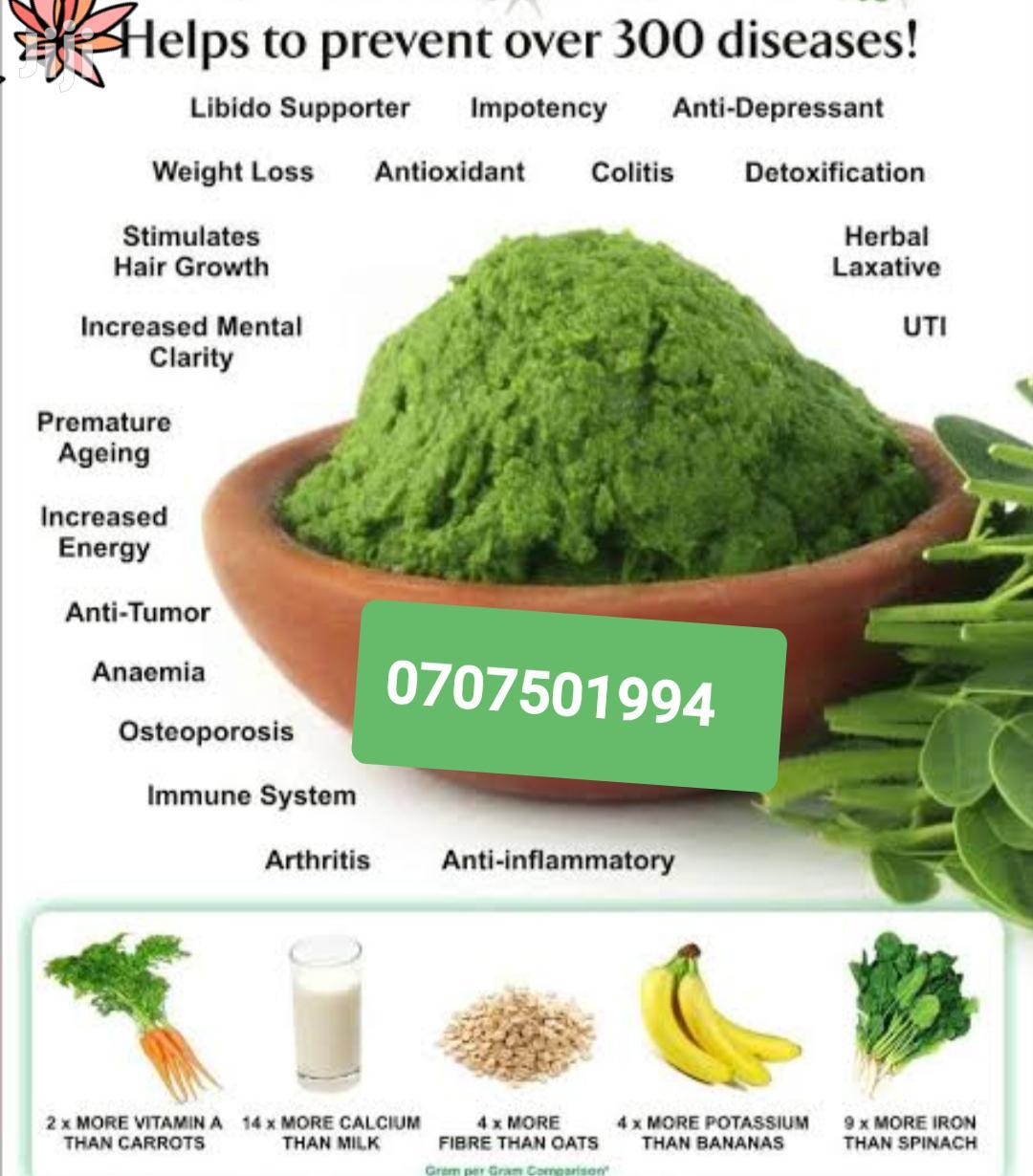 Natural Moringa Powder ( Treats Over 300 Diseases)