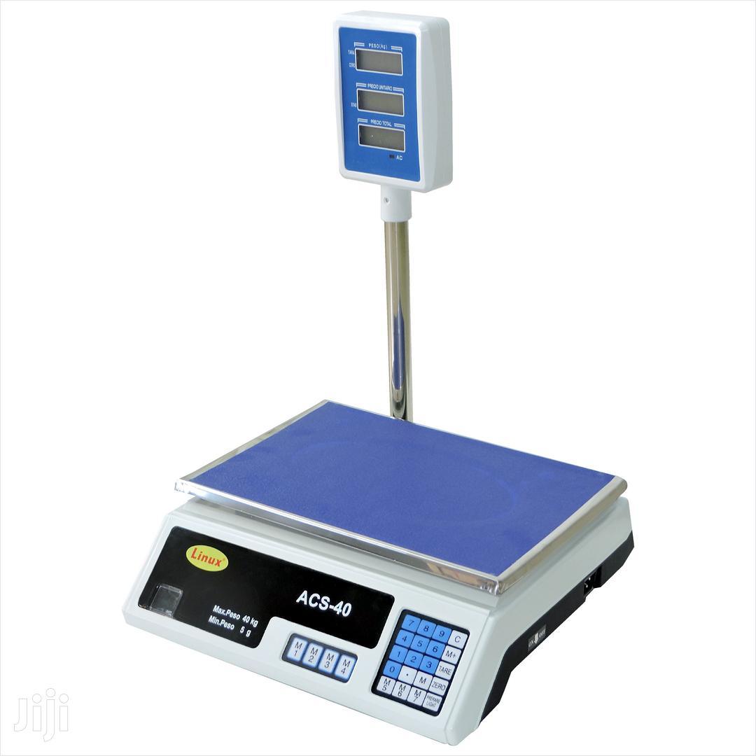 Digital ACS 30kg-40kg Electronic Price Computing Weighing Sc