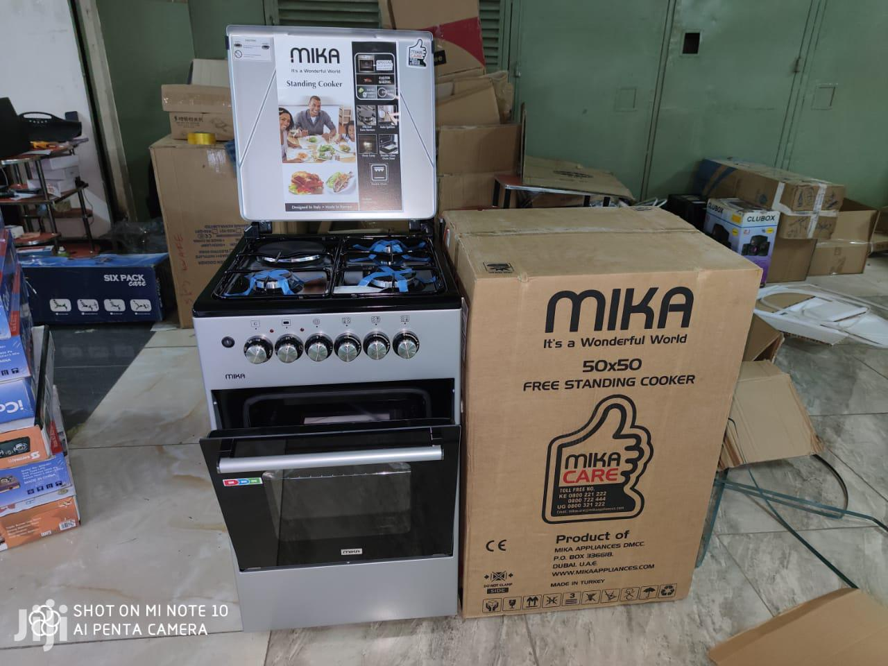 Archive: 4gas Burner Electric Cooker