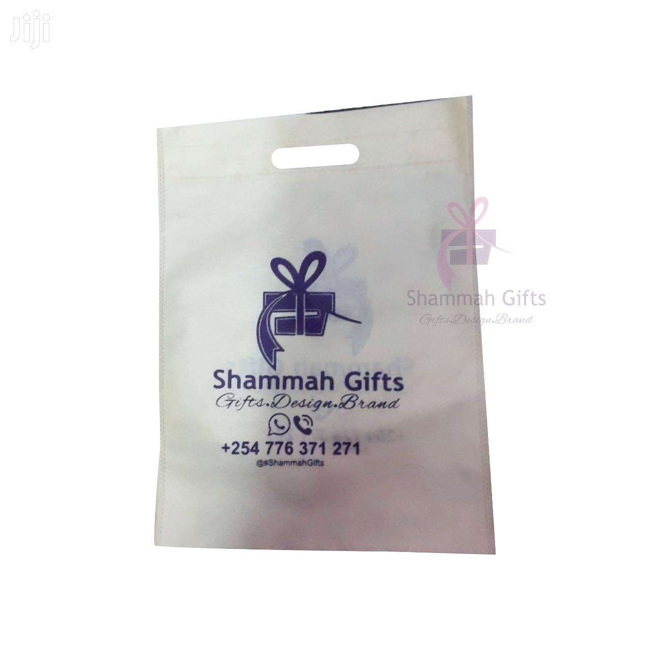 100 Pcs Non-woven Shopping Bags Printed 2 Sides One Color | Manufacturing Materials for sale in Nairobi Central, Nairobi, Kenya