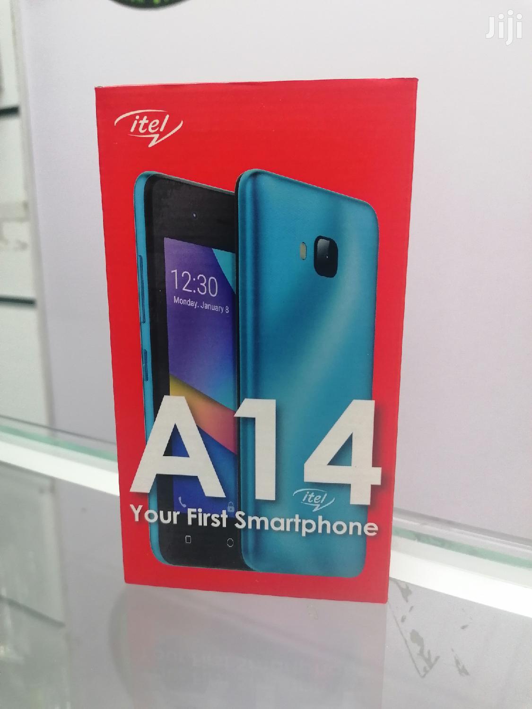 New Itel A14 8 GB Blue