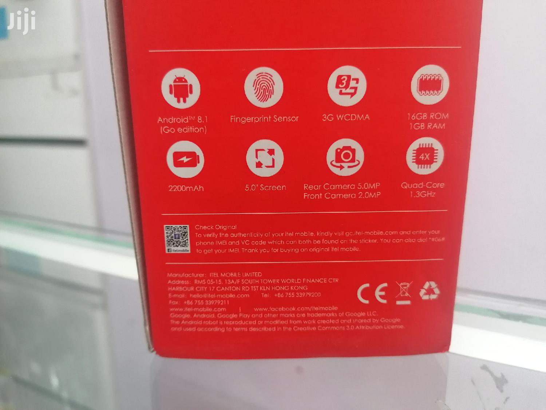 New Itel A33 8 GB Black | Mobile Phones for sale in Nairobi Central, Nairobi, Kenya