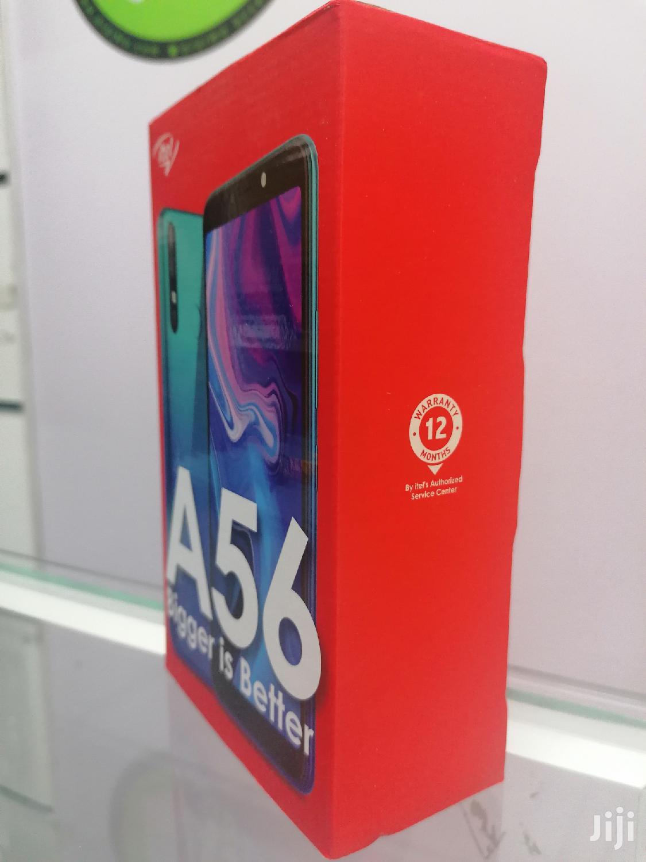 New Itel A56 16 GB Blue   Mobile Phones for sale in Nairobi Central, Nairobi, Kenya