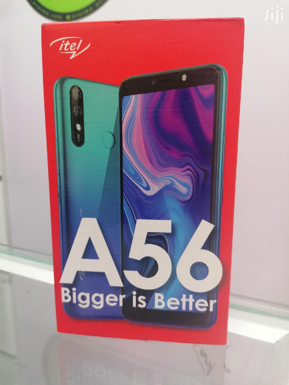New Itel A56 16 GB Blue