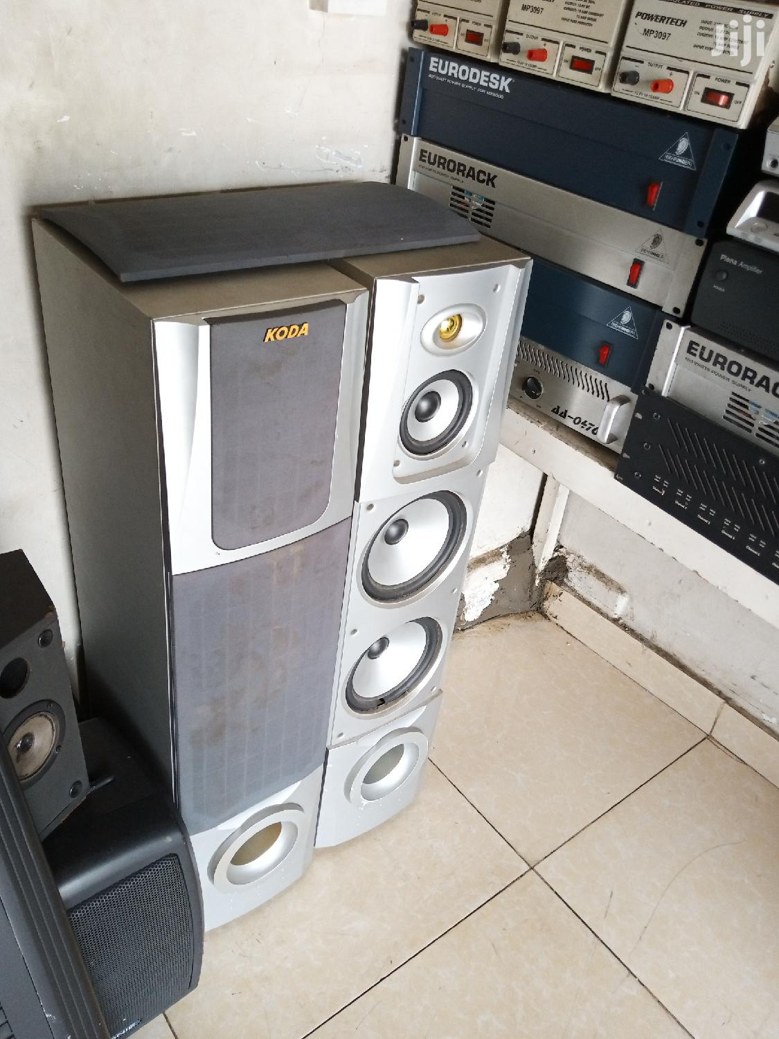Archive: Tower Speakers. As Is
