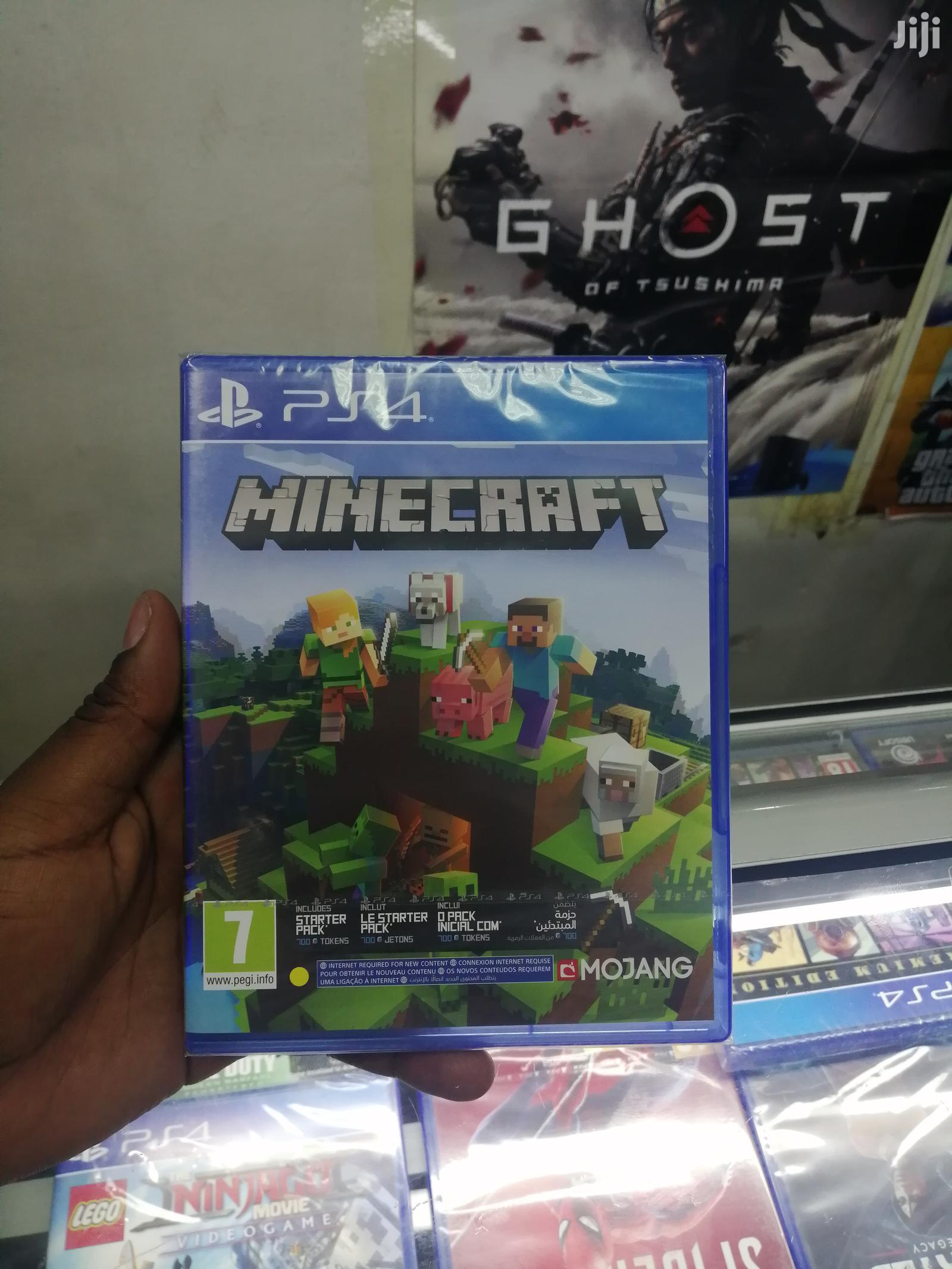 Minecraft Ps 4 Game
