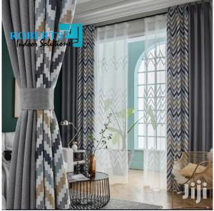 Zig Zag Prints Grey Curtains   Home Accessories for sale in Nairobi, Nairobi Central
