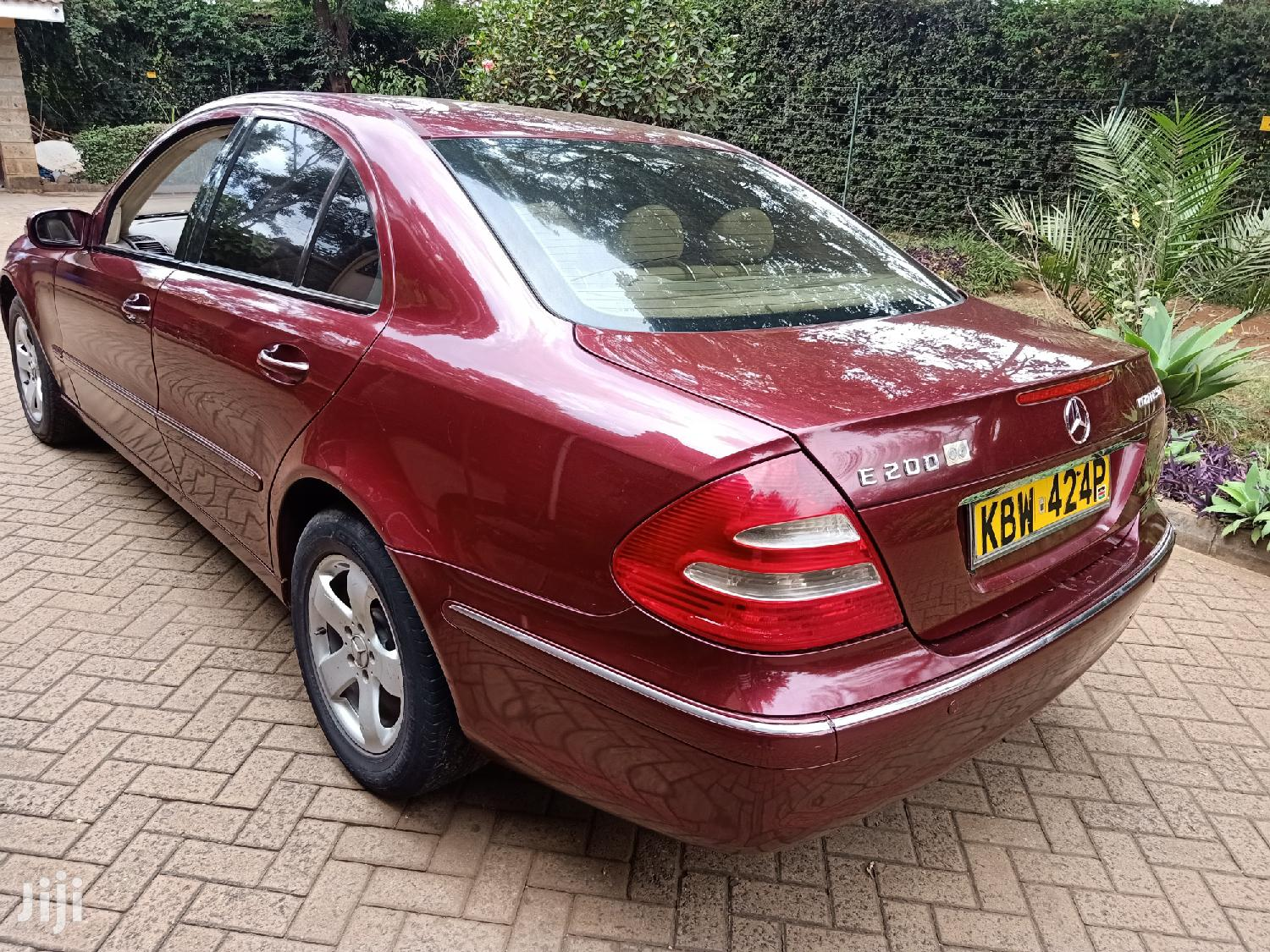 Mercedes-Benz E200 2008 Red | Cars for sale in Nairobi Central, Nairobi, Kenya